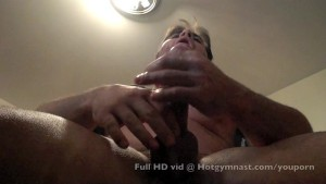 Heavy CUMSHOT with hairy muscle stud
