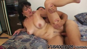 OLD WOMAN FUCKED BY A BOY
