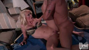 Horny big-tit blonde MILF slut Stormy Daniels fucks big-dick hard