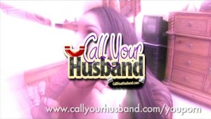 Sexy Honey Sucks Anothers Mans Cock While Talking To Her Husband On The Phone