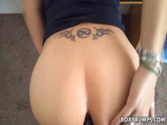 Amateur Chick Gets Deep Ass Fucking!