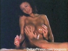 Hot Oil Fuck with Amazing Asian Girl - Vintage Porn 1970s