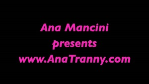 Ana Mancinis shower