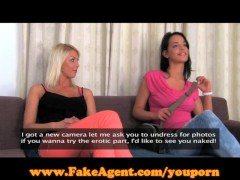FakeAgent Two girls ma...