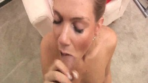 Strawberry Sandy Sucking Cock
