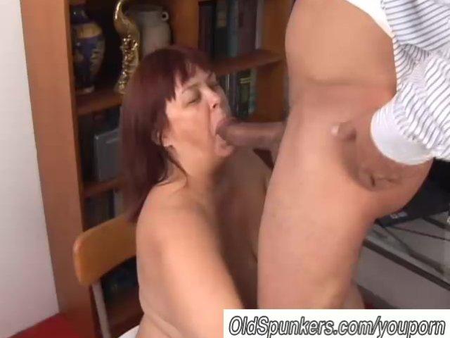 mature adores cock