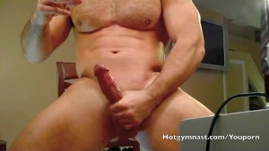 Young Muscle Cock cums
