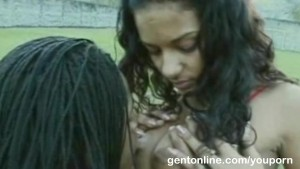 Ebony chic fucked for learning football secrets