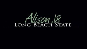 Busty Coed Alison