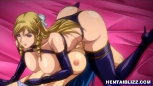 Anime lesbian schoolgirls shaved pussy is filled with a big thick dildo [変態アニメポルノ Hentai Anime Porn HentaiPornTube.net]