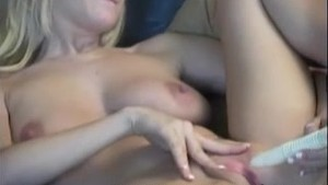 Busty Autumn using dildo