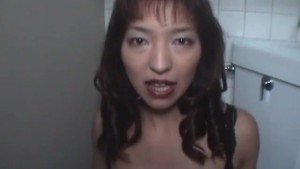 Japanese Amateur Bathroom Blowjob