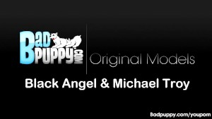 Michael sucks Black Angel