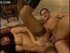 Chipy Marlow fucks the lucky guy in a french chateau