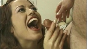 Giant Boob Kitchen Handjob