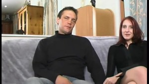 French couple auditioning - Telsev