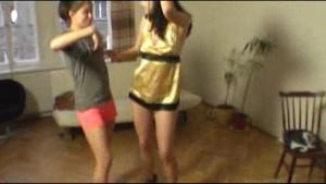 Zuzinka like a hot striptease teacher