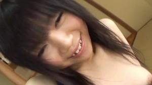 Perky teen Minami Asaka and her shaved teen pussy