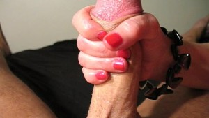 Stroking Out The Cum