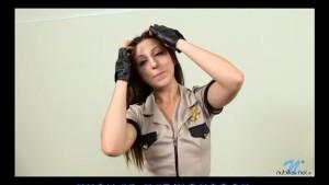 Naughty coed cop Alexa Rydell