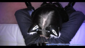 Spooky Asian Kitty Sucks And Fucks
