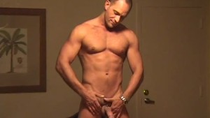 Solo twink Rodney masturbates his cock until he cums