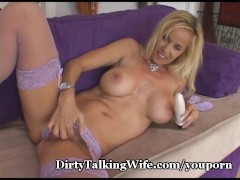 Dirty Talking Wife In Lingerie