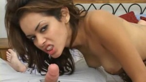 Two super hot chicks playing with his tiny cock
