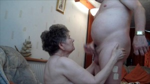 Grannie Blow Job
