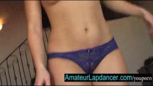 Czech amateur Sandra-blow job and sexy lapdance