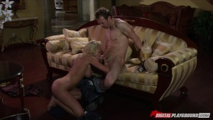 Slutty blonde bombshell Jesse Jane is filmed cheating on her man
