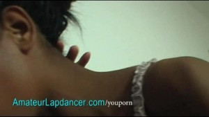 Ebony chick does sexy lapdance with BJ