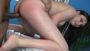 Sexy oiled body takes hard dick deep inside