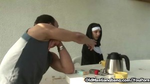 Sinful nun depraved and fucked