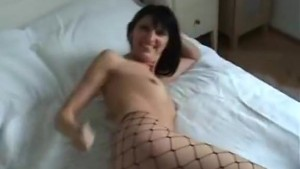 Fucking hot cunt in fishnets