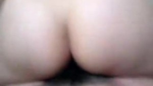 Eating cock and fucking with hairy pussy