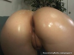 Hollie Stevens Has A Juicy Round Booty