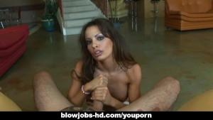 Sexy Vanessa Lane best handjob ever!