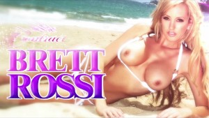 Brett Rossi teases her wet warm pussy to an intense orgasm