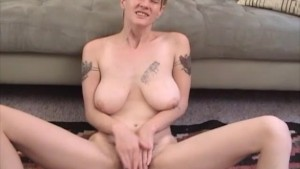 Horny Amateur blonde toying her Hairy pussy