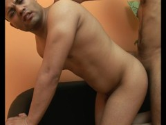 Chubby Latino Takes It Up The Culo - Julia Reaves