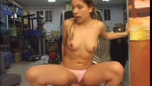 Braided Blonde Gets Fucked The Garage - Sin-Sensual Entertainment
