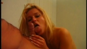 Deepthroat for the sexy blonde - Pink'O