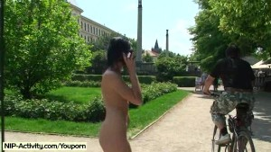 Naked Babes Shows Their Hot Bodies In Public
