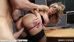School principal Brandi Love gives school teacher a sex ed lesson