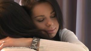 DaneJones HD Teen lesbian makes her move with a kiss