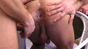office gay barebacked anal sex