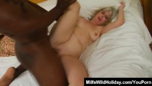 Hot mature Stacey Fucking A Black Stud