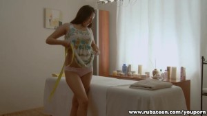 RubATeen Tall Euro teen Eleonora cummed on in her mouth