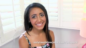 Petite Teen Tinslee Reagan Loves To Give Blow Jobs